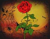 Desenho Uma rosa pintado por neff