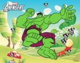 Wingadores - Hulk