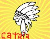 Cara de índio chefe