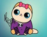 Desenho Gatito emo pintado por RessDiva