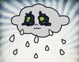 Nuvem chorando