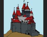 Desenho Castelo medieval pintado por Missim