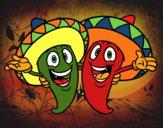 Pimentos mexicanos