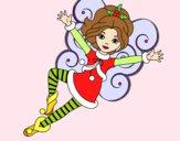 Fada duende de Natal