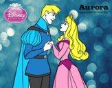 A Bela Adormecida - Príncipe Felipe e Aurora