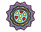 Mandala em forma de leme