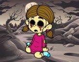 Menina terrorífica