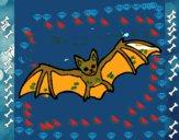 Morcego a voar