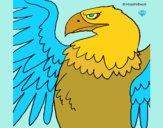 Desenho Águia Imperial Romana pintado por AJALVES