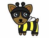 Desenho Cão-abelha pintado por BelMorim
