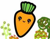 Cenoura sorridente