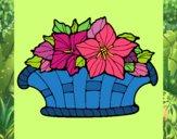 Desenho Cesta de flores 8 pintado por Dabejon