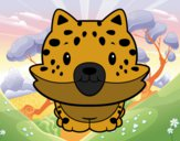 Desenho Cria de guepardo pintado por BelMorim