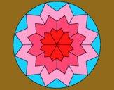 Desenho Mandala 29 pintado por Annefelipe