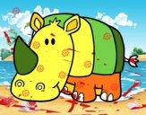 Rhino bebê