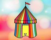 Desenho Tenda de circo pintado por marilurdes