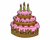 Torta de Aniversário
