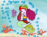 Sereia e medusa