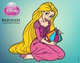 Entrelaçados - Rapunzel com luzes flutuantes