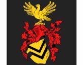 Desenho Escudo de armas e águia pintado por wandersong