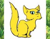 Desenho Gata persa pintado por Renatacos