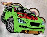 Desenho Hot Wheels Megane Trophy pintado por Kenn