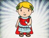 Desenho Julio César de criança pintado por jrduran