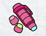 Desenho Lápis de cor empilhável pintado por Margarida-