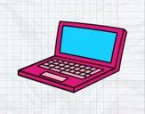 Desenho Netbook pintado por Margarida-