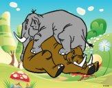 O livro da Selva - Elefantes