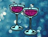 Desenho Taças de champanhe pintado por S2Assilene