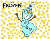 Frozen Olaf a dançar