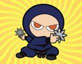 Desenho Menino ninja pintado por ImShampoo