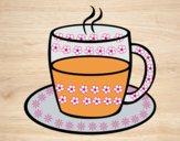 Desenho Chá pintado por ImShampoo