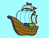 Embarcação piratas
