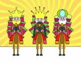 Reis Magos na camelo