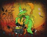 Bruxa com poção