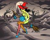 Bruxa do Halloween