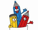 Lápis de cores