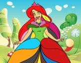Desenho Princesa Ariel pintado por ryan433