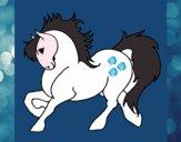 Desenho Cavalo robusto pintado por mafe2015