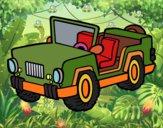 Desenho Jeep pintado por elainebuen