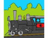 Desenho Locomotiva  pintado por vitorcely