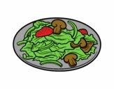 Desenho Salada pintado por vitorcely