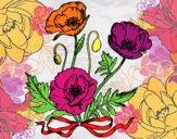 Desenho Umas papoilas pintado por Talitat