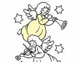 Anjos musicais
