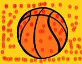 Desenho Bola de basquete pintado por ritucha
