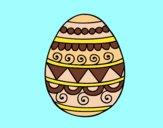 Desenho Ovo de páscoa decorado pintado por BetaMarcus