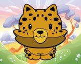 Cria de guepardo