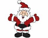 Pai Natal feliz